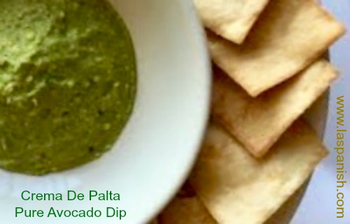 Crema de palta - Pure avocado dip